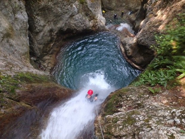 Canyon du Versoud  en Isère -1