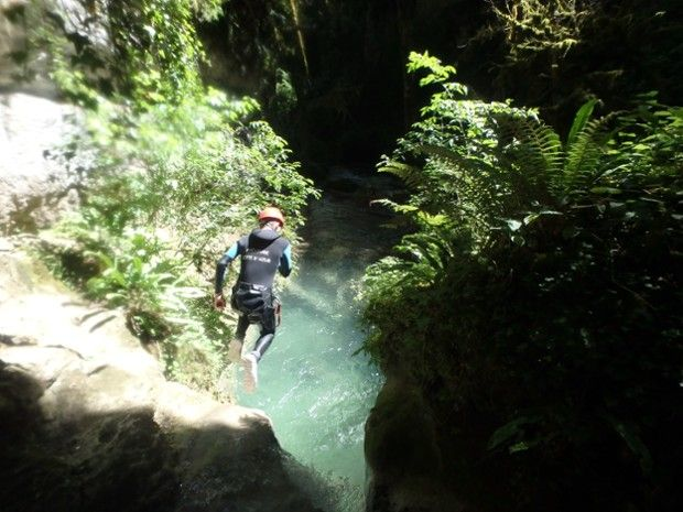 Canyoning dans la Drôme-2