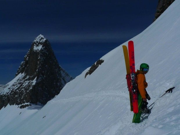 Stage initiation au ski de pente forte à Chamonix-3