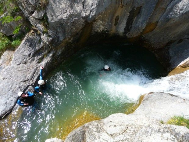 Deux jours de canyonning et via ferrata -4