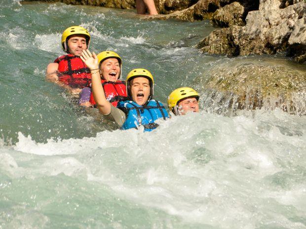 Aqua rando sportive dans les Gorges du Verdon-1