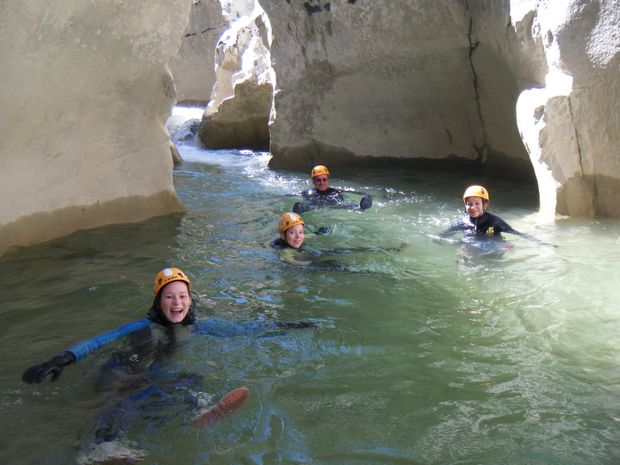Aqua rando découverte dans les Gorges du Verdon-3