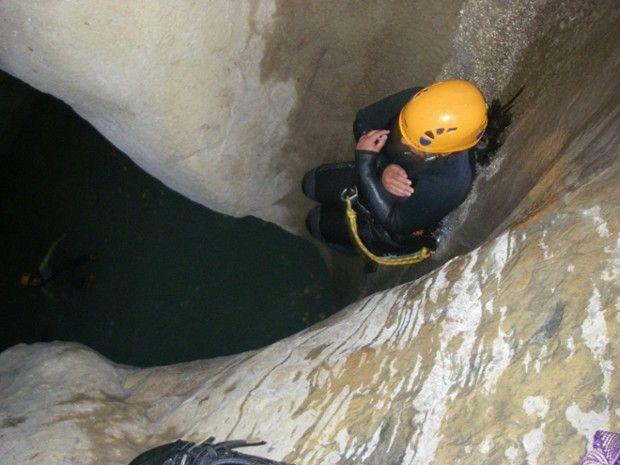Canyoning découverte dans la Clue du Haut-Jabron-1