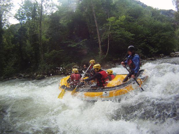 Rafting sensations sur l'Aude-4