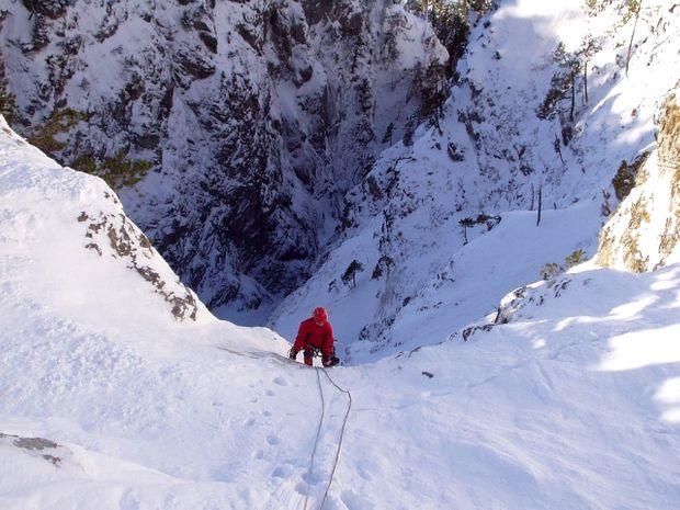 Couloir d'Alpinisme - Tête de la Costasse (2710 m)-4