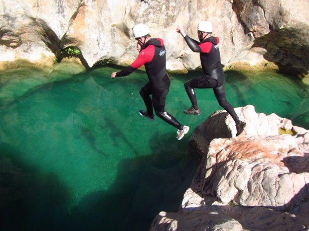 Canyoning en Sierra de Guara-6