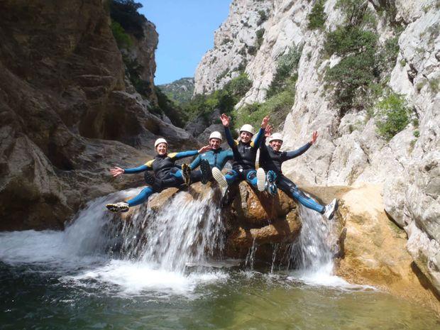 Canyoning facile des gorges de Galamus-4