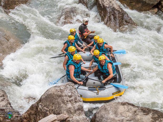 Descente sportive en canoë-kayak dans le Verdon-4