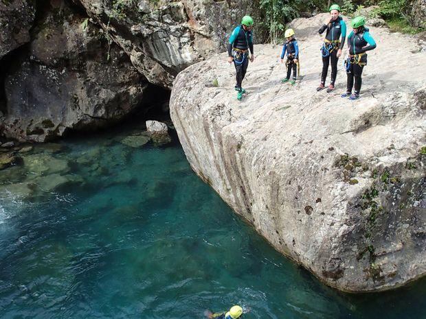 Descente découverte : le Canyon d'Héas-3