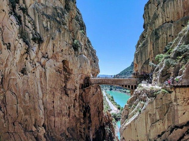 Stage de via ferrata en Andalousie -7