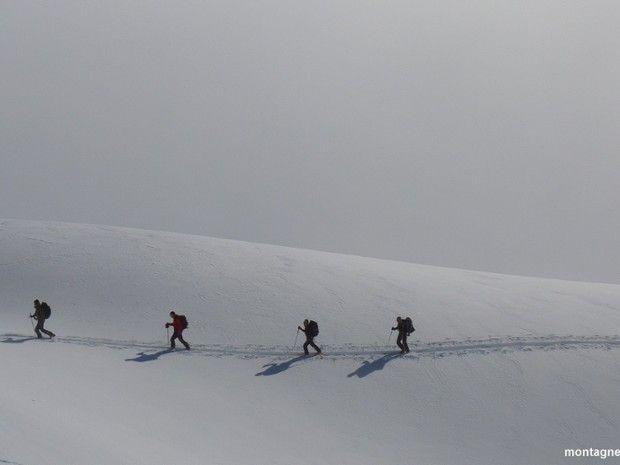 Raid à ski de randonnée et ascension du Thabor-1