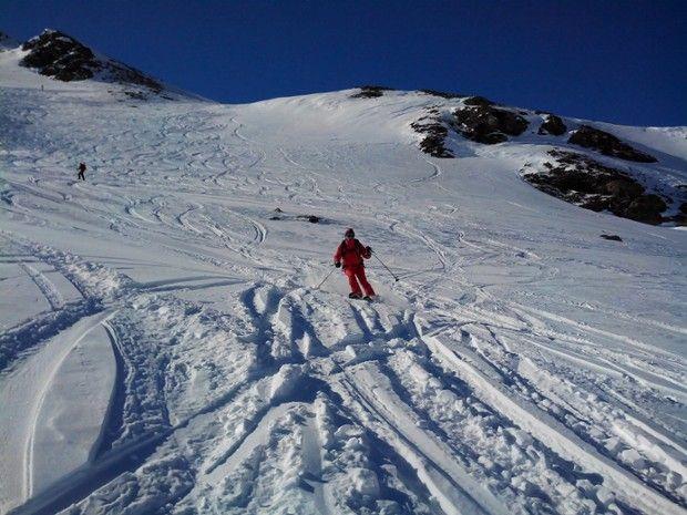 Journée de ski hors-piste espace Killy-1