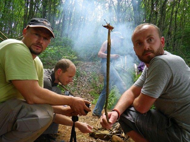Stage de survie en forêt près de Bordeaux-1
