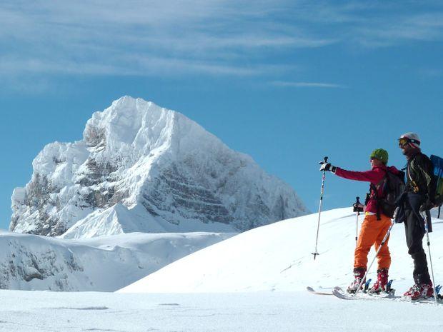 Week end  ski de randonnée dans le Dévoluy-1