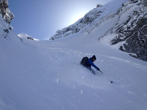 Ski Hors-piste à Puy Saint-Vincent-1