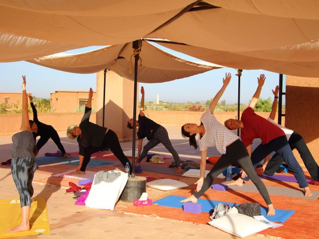 Yoga à Marrakech-5