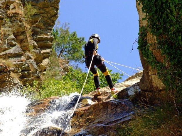 Canyoning dans les Pyrénées Orientales-5