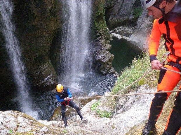 Canyoning dans le Jura : Coiserette-3