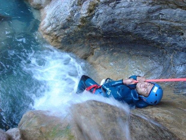 Canyoning dans la Clue de Saint Auban-3