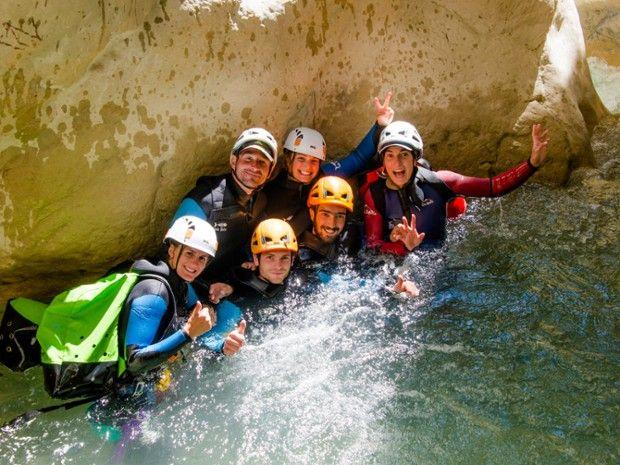 Canyoning Aiglun, Verdon-1