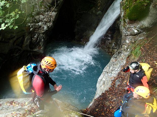 Canyon de Fleur Jaune dans le cirque de Cilaos-3