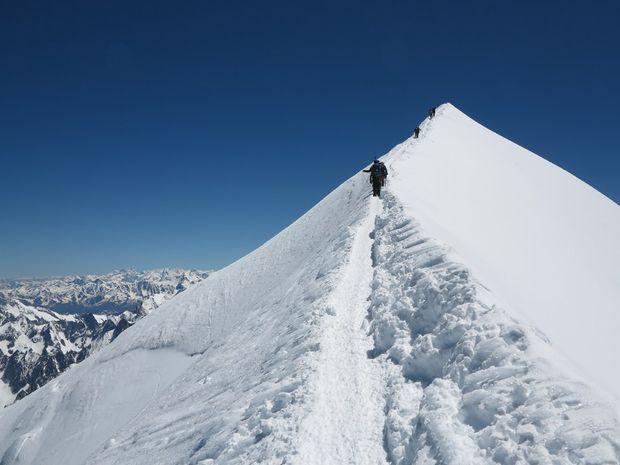 Stage 7 jours ascension du Mont-Blanc