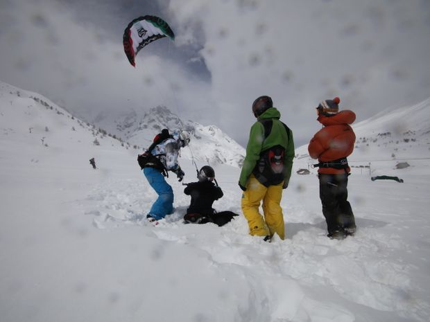 Transfert du kite surf au snow kite-3