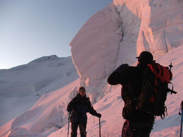 Mont blanc skis aux pieds!-2