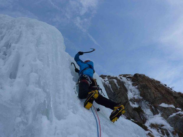 Cascade de glace Ecrins-1