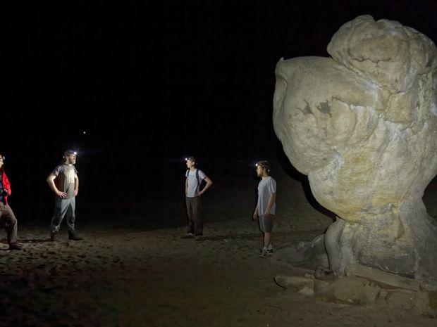 Escalade nocturne à Fontainebleau-1