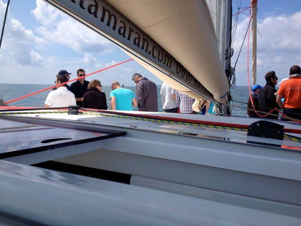 Demi-journée en mer à bord d'un voilier -2
