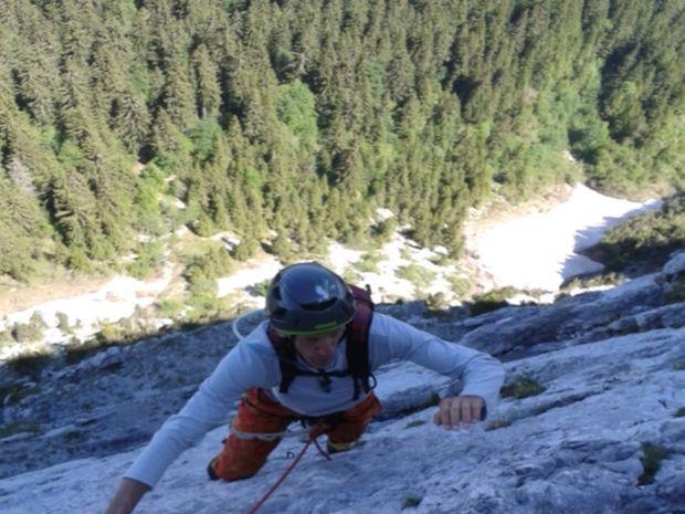 Stage d'escalade en Grandes Voies dans le Chablais-6