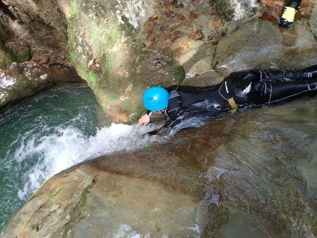 L'aqualand des Bauges : Canyon de Terneze -2