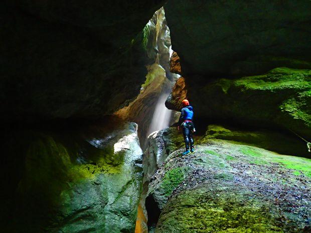 Descente du canyon de l'Infernet-2