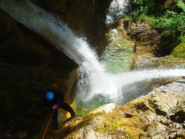 Le canyon d'Alloix, une descente accessible à tous-1