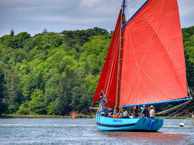 Sortie en voilier dans le Golfe du Morbihan-2