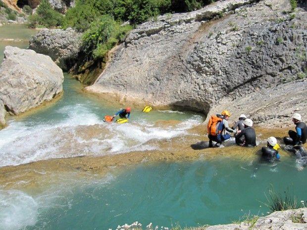 Canyoning dans les Pyrénées espagnoles-3