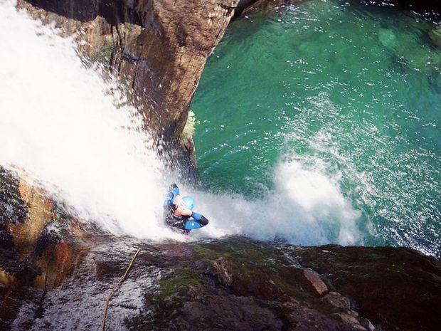 Canyon de l'Artigue en Ariège-1