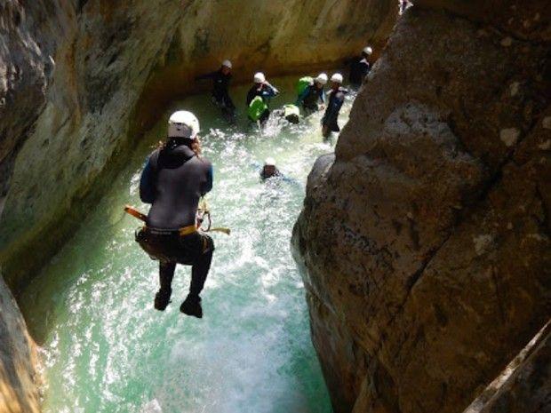 Journée de descente du fameux canyon de la Maglia-7