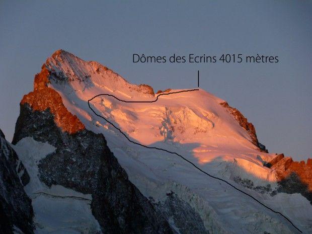 Dôme des Écrins 4015m en 3 jours-1