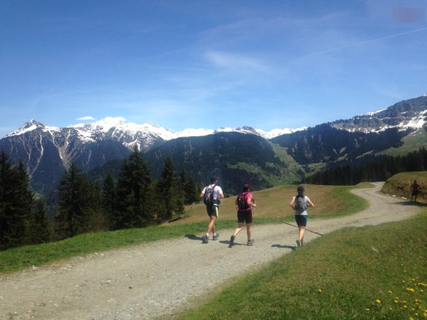 Initiation trail dans les Alpes-1