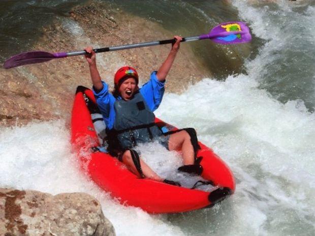 Descente sportive de la Vésubie en canoë-kayak-1