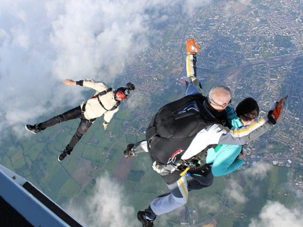Saut tandem à 4000m au-dessus de Nevers-1