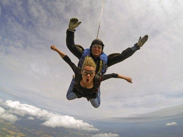 Saut en tandem à 4000m au-dessus de Maubeuge-1