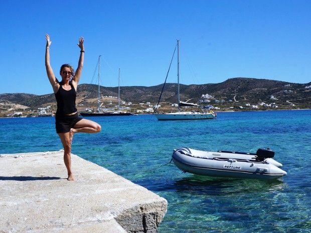 Voile & Yoga dans les Cyclades-5
