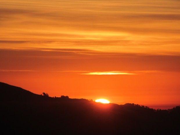 Levé du Soleil depuis la colline de Poon Hill