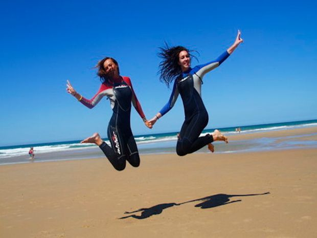 S'initier au Surf et au Yoga en même temps -7