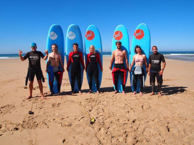 Une semaine pour apprendre à surfer et l'Espagnol -7