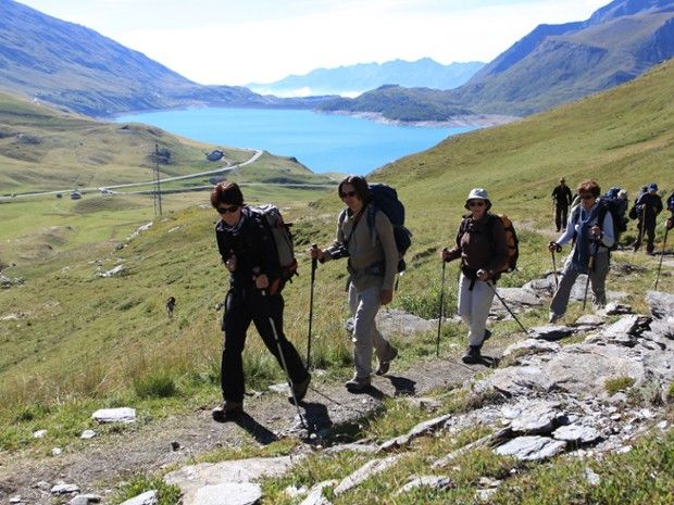 Randonnée au Mont-Cenis