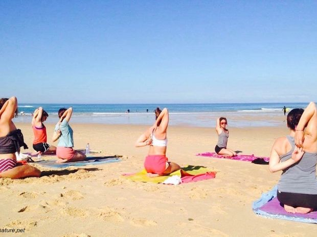 Séjour de surf & yoga sur la plage de Messanges-4